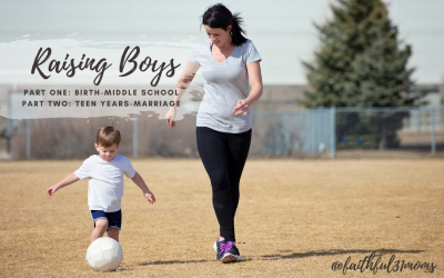 Raising Boys: A Podcast Interview